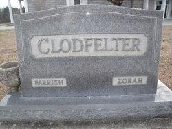 Zorah Elmira <i>Holden</i> Clodfelter