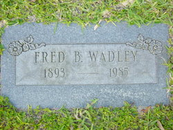 Fred Beverd Wadley