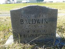 Doshie Eva <i>Overton</i> Baldwin