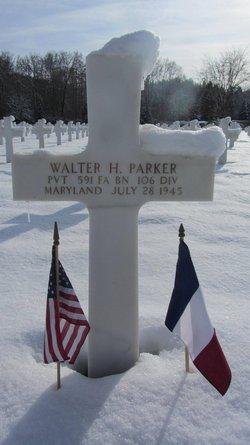 Pvt Walter H Parker