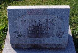 Marian <i>Sterner</i> Baldwin