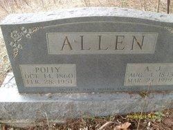 Polly <i>Patton</i> Allen