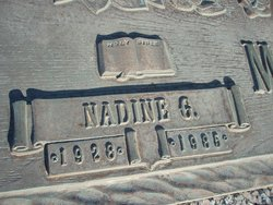 Nadine Gladys <i>Ellsworth</i> Morris