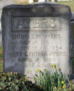 Mary Cynthia <i>Garrison</i> Ayers