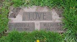 Mildred b <i>LeGault</i> Love