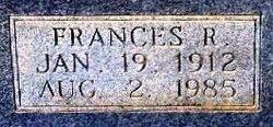 Frances R <i>Ennis</i> Shrum