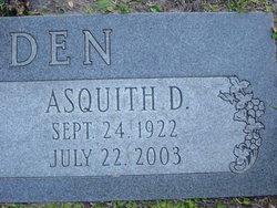 Asquith Denzil Bodden, Sr