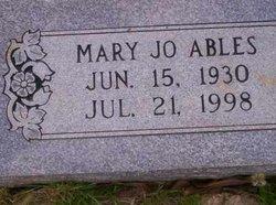 Mary Jo Ables