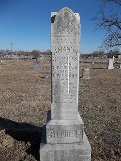 Amanda C. <i>Worsham</i> Stephens