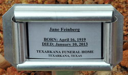 Jane <i>Brauning</i> Feinberg