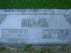 Sarah Alice Allie <i>Morrison</i> Beard