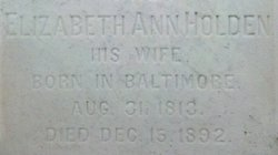 Elizabeth Ann <i>Ijams</i> Holden