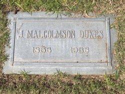 James Malcomson Dukes