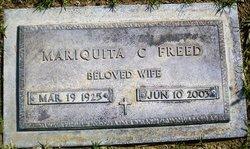 Mariquita 'Maria' <i>Camacho Javellana</i> Freed