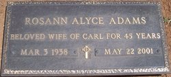 Rosann Alyce Adams