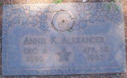 Annie K. Alexander