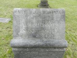 Mary J <i>Whitaker</i> Denny