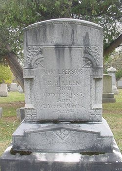 Mary L <i>Persons</i> Allen