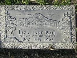 Liza Jane <i>Cooksey</i> Ball