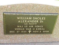 Maj William Sholes Alexander, Sr