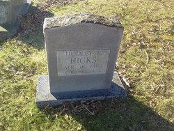 Dudley W Hicks