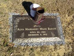 Alva Margaret <i>Miles</i> Blount