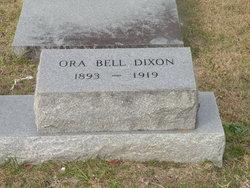 Ora Bell <i>Edmondson</i> Dixon