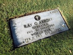 Pvt Ray C Abbott
