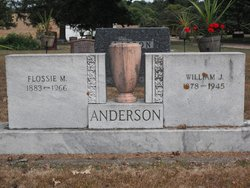 Flossie Mae <i>Mills</i> Anderson