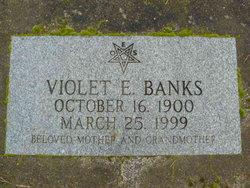 Violet E <i>Thomas</i> Banks