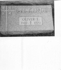 Oliver Elmer Gicking