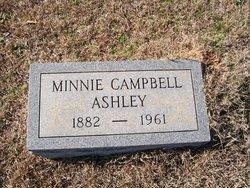 Minnie Lee <i>Campbell</i> Ashley