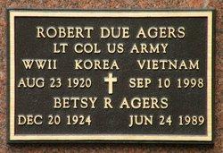 Elizabeth Ann Betsy <i>Reid</i> Agers