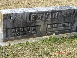 Irene <i>Clement</i> Ervin
