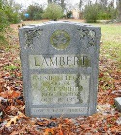Fannie L. <i>Tucker</i> Lambert