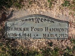 Rebecca Ford <i>Johnson</i> Hammond