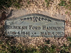 Rebekah Ford <i>Johnson</i> Hammond