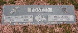 Rebecca Jane <i>Whitehead</i> Foster