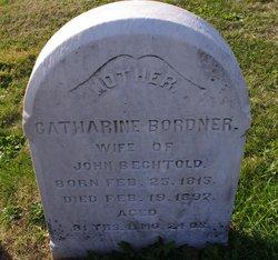 Catharine <i>Bordner</i> Bechtold