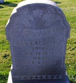 John B Bechtold