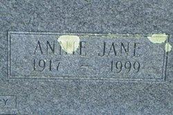 Annie Jane <i>Knox</i> Burley
