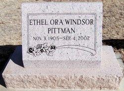 Ethel Ora <i>Windsor</i> Pittman