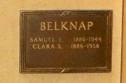 Clara <i>Smith</i> Belknap