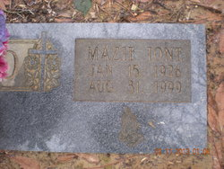 Mazie Ione <i>Parker</i> Allred