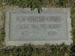 Birdie Elizabeth <i>Washburne</i> Ratfield