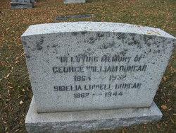 Sibelia <i>Lowell</i> Duncan