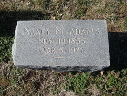 Nancy M. <i>Rice</i> Adams