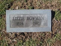 Katherine E. Lizzie <i>Hall</i> Bowman