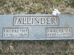Maude Ellen <i>Wamsley</i> Allinder