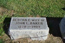 Bertha E <i>Hayes</i> Baker